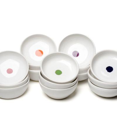 Mini bowls, set of three